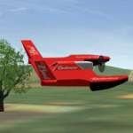 WaterFlyer hydroplane aircraft